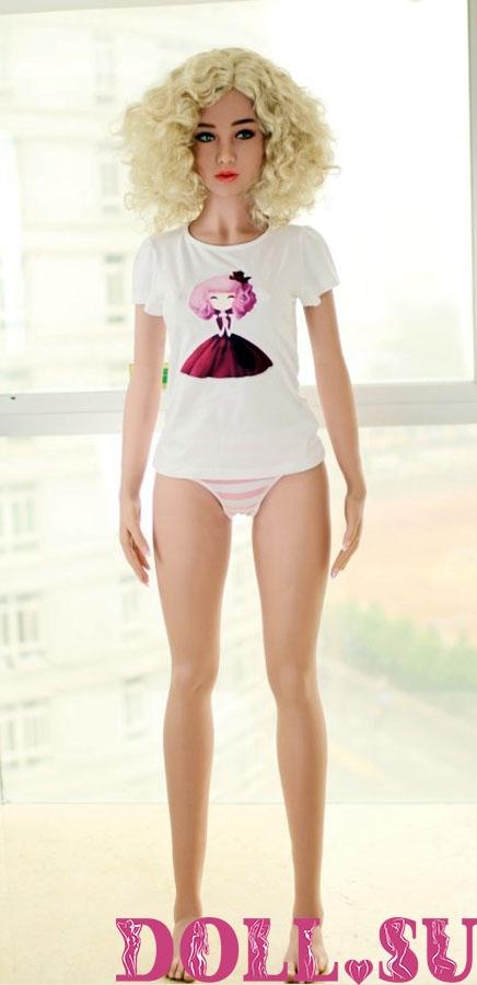 Секс-кукла с Голосом и Подогревом Паулина 156 см TPE-Силикон - 4