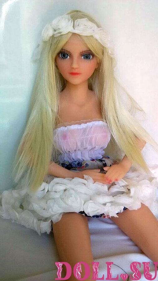 Мини секс кукла Кира 80 см - 1