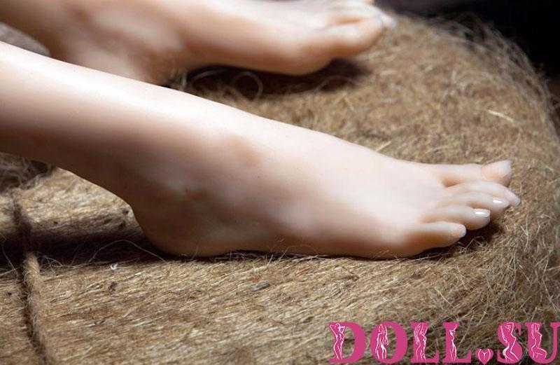 Секс-кукла с Голосом и Подогревом Люсетта 118 см TPE-Силикон - 8