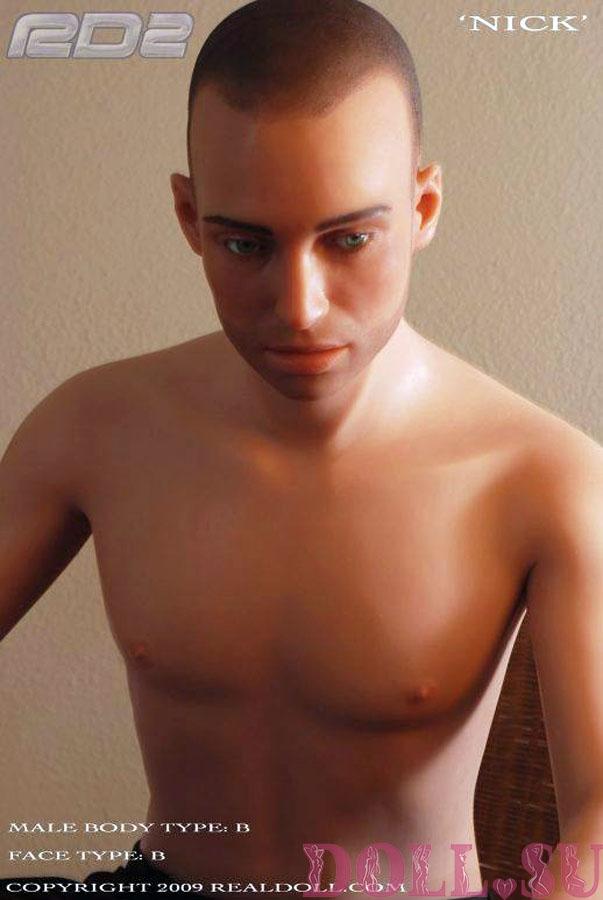 Секс кукла мужчина Real Doll Nick1 177 см - 2