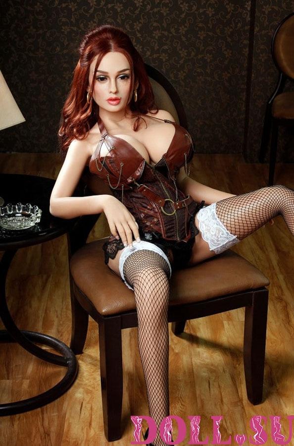 Секс-кукла с Голосом и Подогревом Аэлина 151 см TPE-Силикон - 4