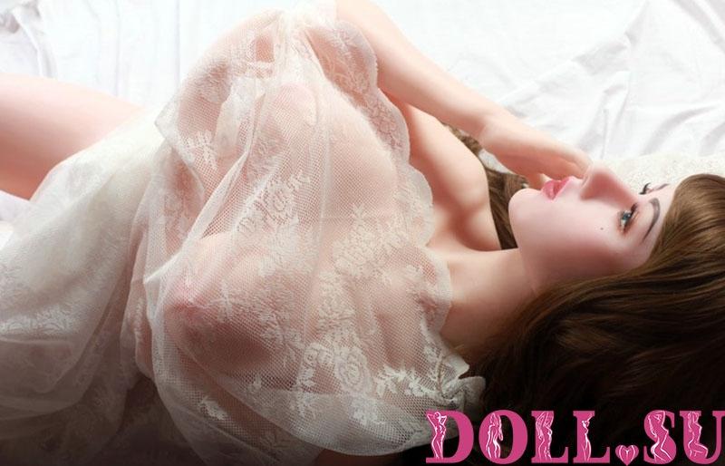 Секс-кукла с Голосом и Подогревом Элисия 170 см TPE-Силикон - 12