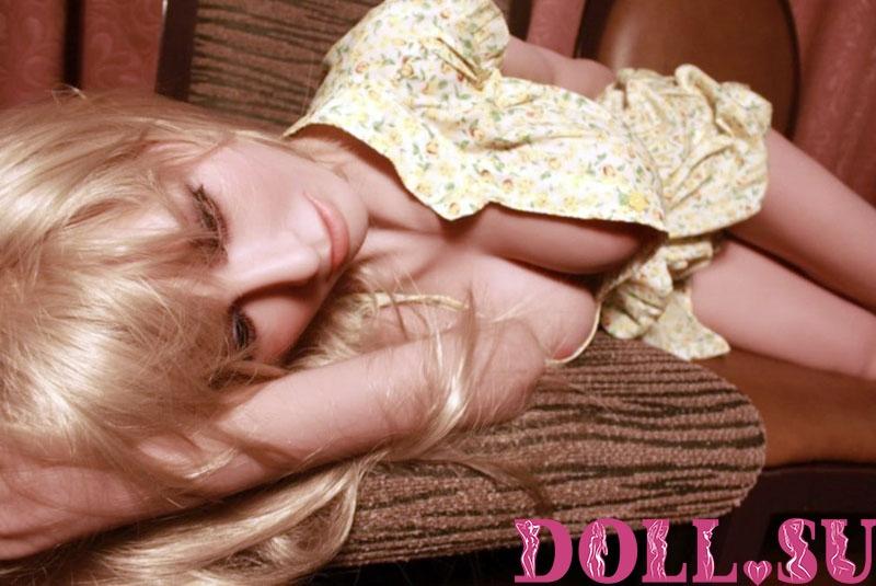 Секс-кукла с Голосом и Подогревом Аливера 145 см TPE-Силикон - 4