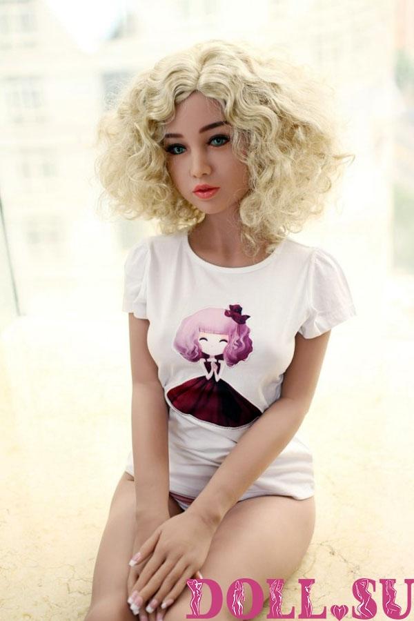 Секс-кукла с Голосом и Подогревом Паулина 156 см TPE-Силикон - 6