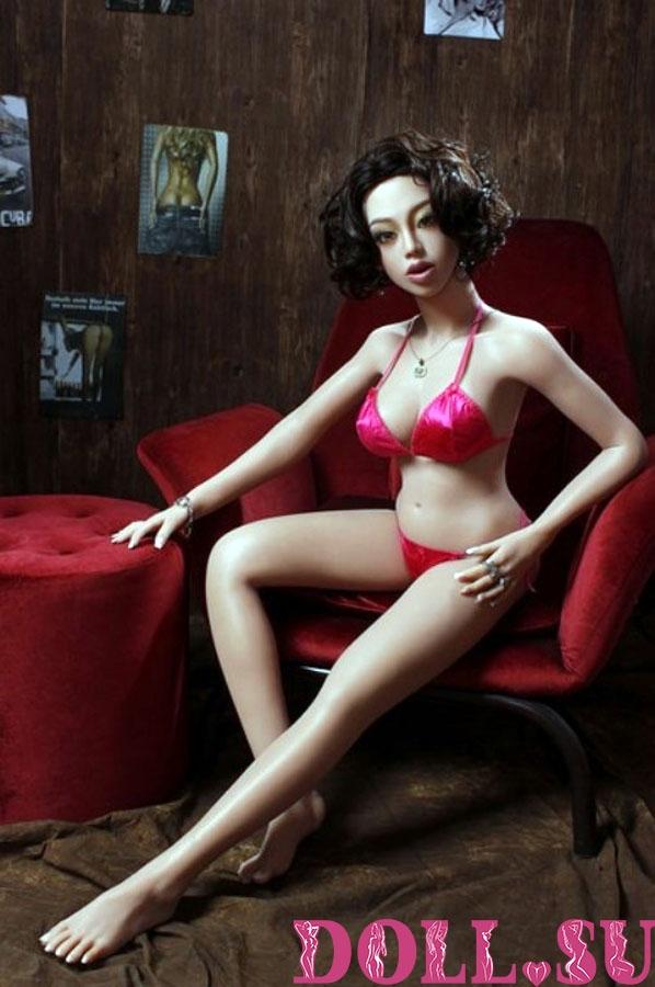 Секс-кукла с Голосом и Подогревом Донелла 145 см TPE-Силикон - 15
