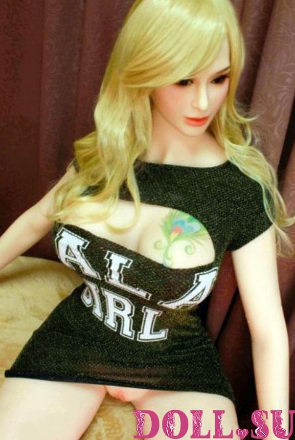 Секс-кукла с Голосом и Подогревом Леонора 170 см TPE-Силикон - 2
