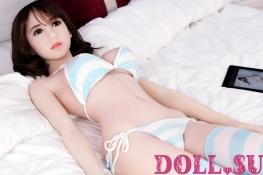Секс-кукла с Голосом и Подогревом Мирра 165 см TPE-Силикон - 5