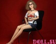 Секс-кукла с Голосом и Подогревом Калерия 156 см TPE-Силикон - 6