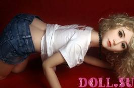 Секс-кукла с Голосом и Подогревом Калерия 156 см TPE-Силикон - 8