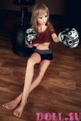 Секс-кукла с Голосом и Подогревом Стилара 145 см TPE-Силикон - 3