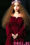 Секс-кукла с Голосом и Подогревом Виктория 118 см TPE-Силикон - 2