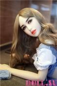 Секс-кукла с Голосом и Подогревом Скарлетт 156 см TPE-Силикон - 8