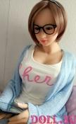 Секс-кукла с Голосом и Подогревом Руфина 145 см TPE-Силикон - 6