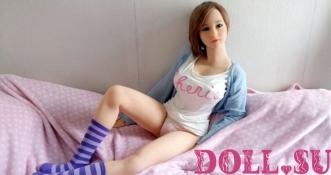 Секс-кукла с Голосом и Подогревом Руфина 145 см TPE-Силикон - 10