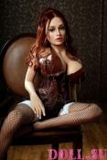 Секс-кукла с Голосом и Подогревом Аэлина 151 см TPE-Силикон - 5