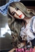 Секс-кукла с Голосом и Подогревом Скарлетт 156 см TPE-Силикон - 2
