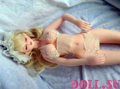 Мини секс кукла Альберта 68 см - 9