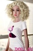 Секс-кукла с Голосом и Подогревом Паулина 156 см TPE-Силикон - 1