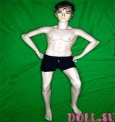 Секс кукла мужчина Дастин 160 см TPE-силикон - 5