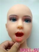 Мини секс кукла Элеонора 117 см - 11