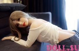 Секс-кукла с Голосом и Подогревом Скарлетт 156 см TPE-Силикон - 1